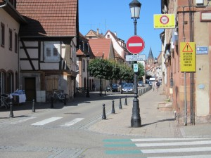 Double-sens cyclable - Wissembourg