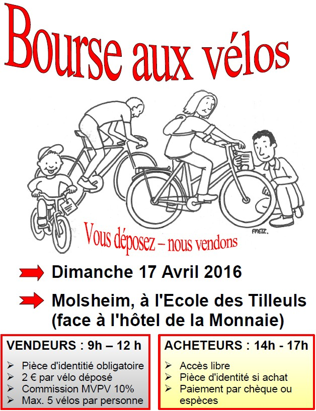 bourse aux vélos 2016